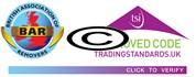 BAR removal companies logo